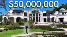 Touring-50-Million-Dollar-Los-Angeles-Mansion